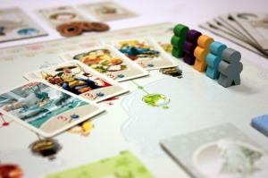 the Tokaido board game
